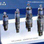 PED certified pressure cartridges