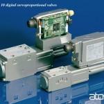 Size 06 and 10 digital servoproportional valves